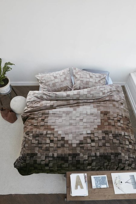 At Home At Home Duvet Wooden Heart