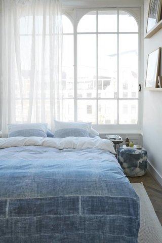 At Home At Home Dekbedovertrek Tones Blue Grey