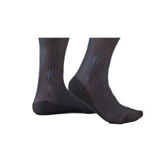 Cesare Paciotti Black·socks·cable·Spinato