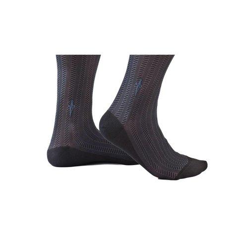 Black·socks·cable·Spinato