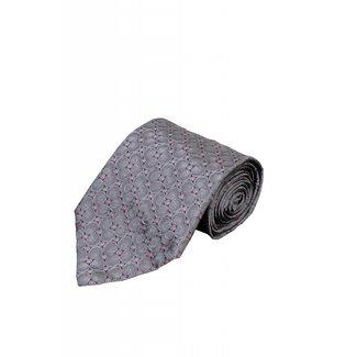 Giancarlo Butti Graue Krawatte Zeppara 146