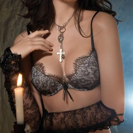 AMBRA SET-lace cuffs-Secret-Feelings-6390