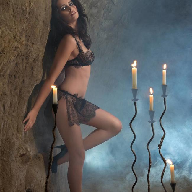 AMBRA SET (Carioca bra + stringrok) Secret feelings 0391/1393