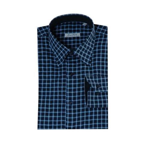 Monti blaues Hemd Country
