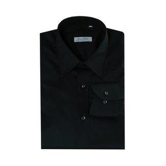Enrico Monti  Monti schwarzes Hemd Aliseo SLIM FIT
