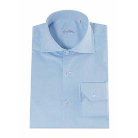 Enrico Monti  Monti blauw overhemd Bolsena