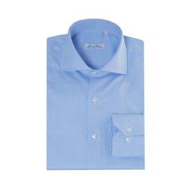 Enrico Monti  Monti blauw overhemd Garda