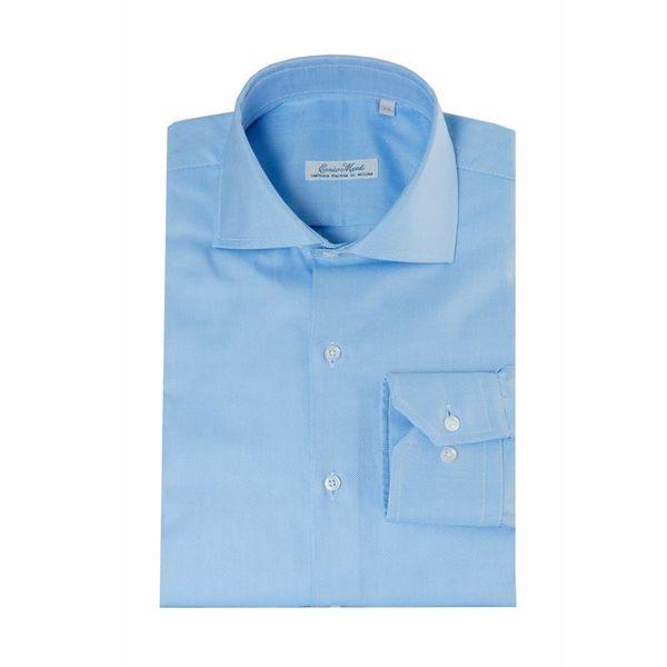 Enrico Monti  Monti blaues Hemd Bracciano