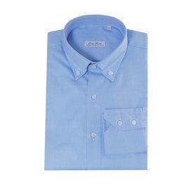 Enrico Monti  Monti blaues Hemd Maggiore
