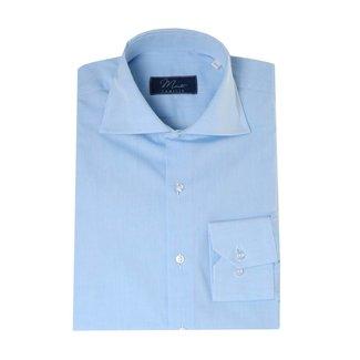 Enrico Monti  Monti blauw overhemd San Remo
