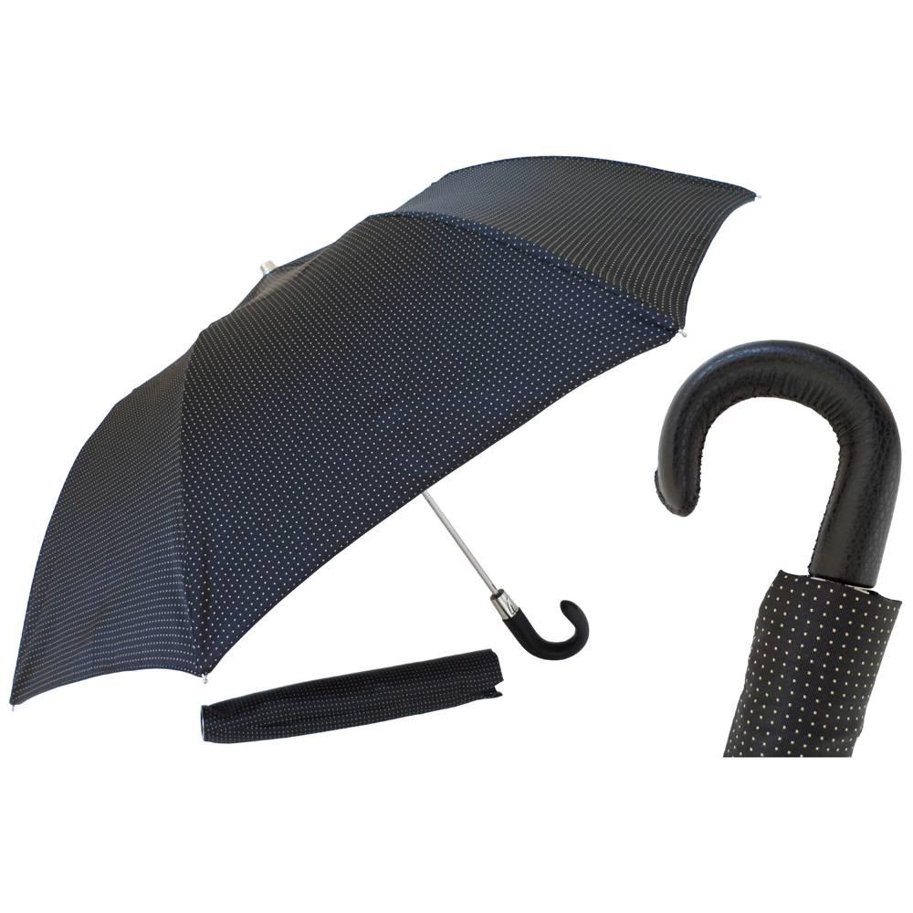 Heren·paraplu·Pasotti·opvouwbaar·geel·219