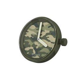 O clock O clock klokje Camouflage Green