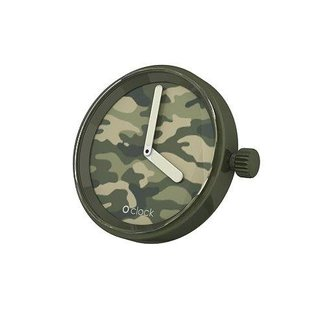 O clock O clock timepiece Camouflage Green