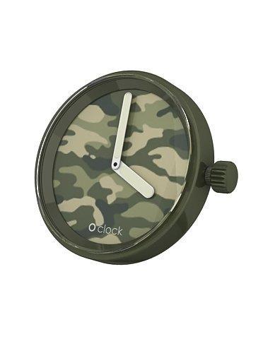 O clock klokje Camouflage Green