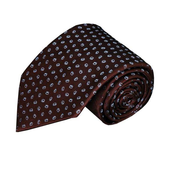 Paolo Albizzati Brown tie PA12