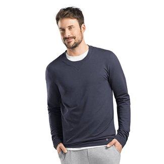 Hanro  Herren·sweatshirt·r/hals·l/arm·75072