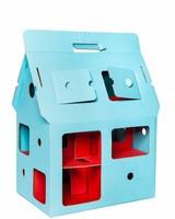 Studio Roof Mobilehome blauw - Poppenhuis