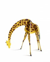 Studio Roof Pop Out Card  Giraf