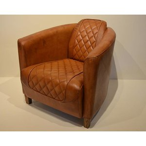Leren fauteuil (IF02)