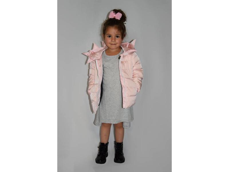 Down Jacket Monster (Soft Pink) - Hipp Kiddo