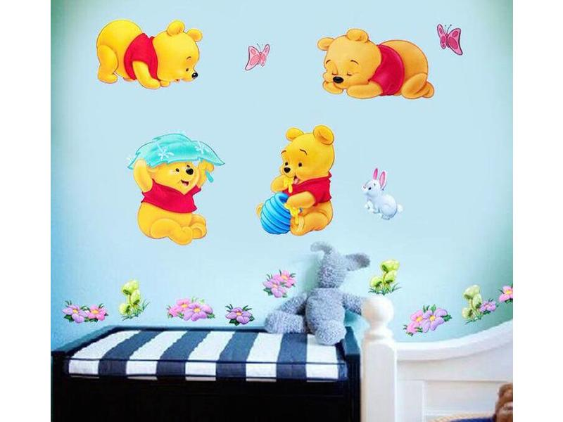 Wall Sticker Winnie The Pooh - Hipp Kiddo