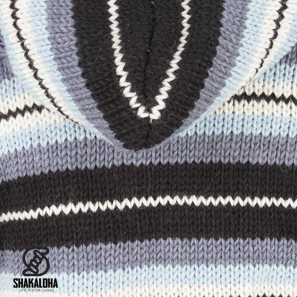 Shakaloha Pilgrim Strickjacke GreySky mit abnehmbarer Kapuze