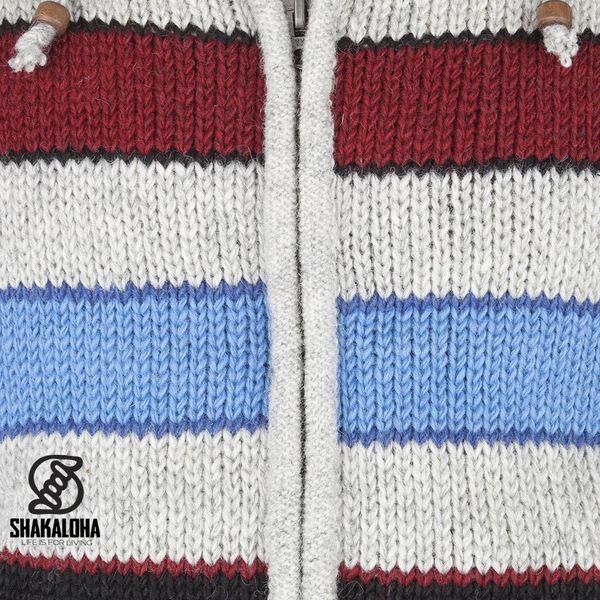 Shakaloha Jive Jacket Strickjacke im Streifenmuster