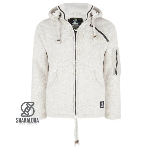 Shakaloha Crush Ziphood Jacke Beige