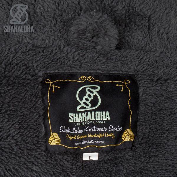 Shakaloha Bodhi Anthraziet Sherpa Herrenstrickjacke