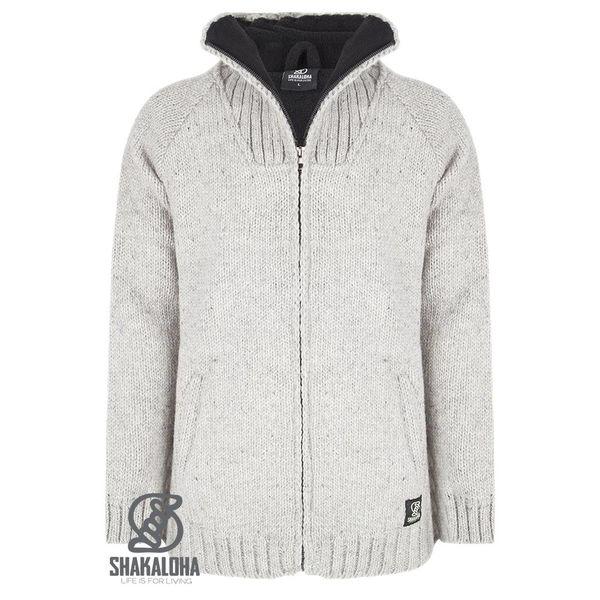 Shakaloha Vertical Collar Grey