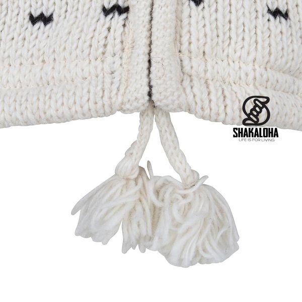 Shakaloha Seal Ziphood WhiteBlack