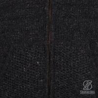 Shakaloha Shakaloha Wool Jacket Chuck Ziphood Antracite