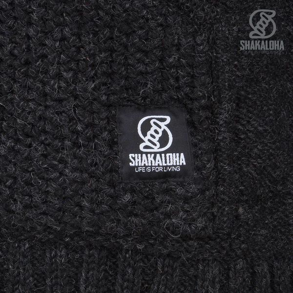 Shakaloha Shakaloha Jacket Chuck Ziphood Antracite
