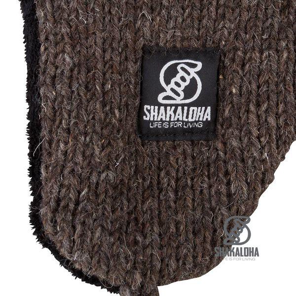 Shakaloha Kamikaze Beanie Choco Braun
