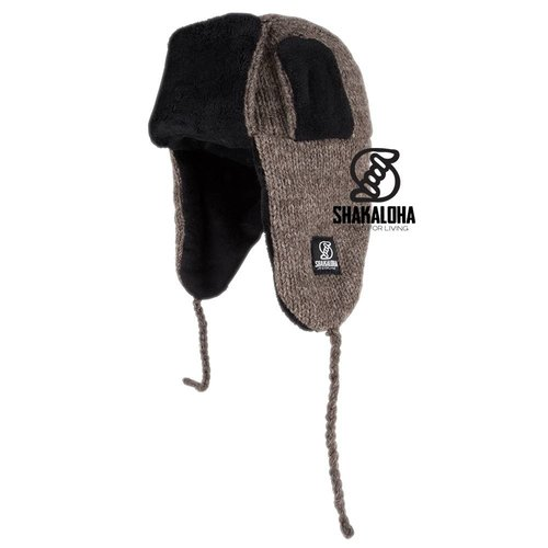 Shakaloha Kamikaze Beanie Light Brown