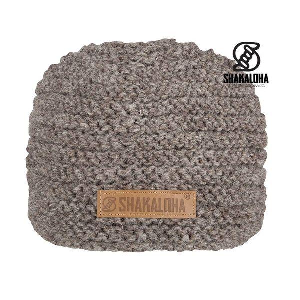 Shakaloha Wool Beanie Billy Light Brown with fleece lining