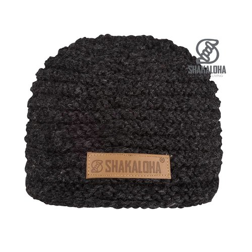 66d4a160cdcbb Shakaloha Beanie Billy Anthracite Charcoal