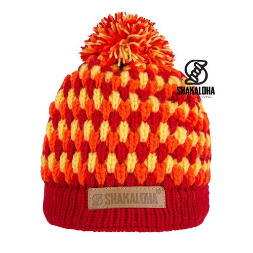 Shakaloha Beanie Bolly Red
