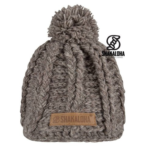 Shakaloha Beanie Boss Light brown