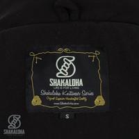 Shakaloha Medium fleece-lined wool cardigan knitted with wool