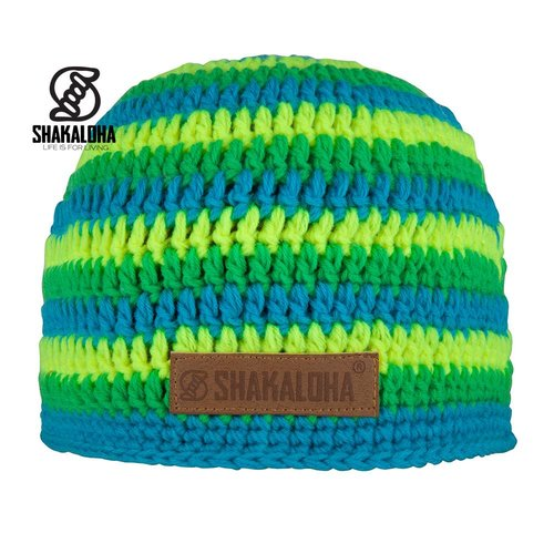 Shakaloha Hat Biker Yellow