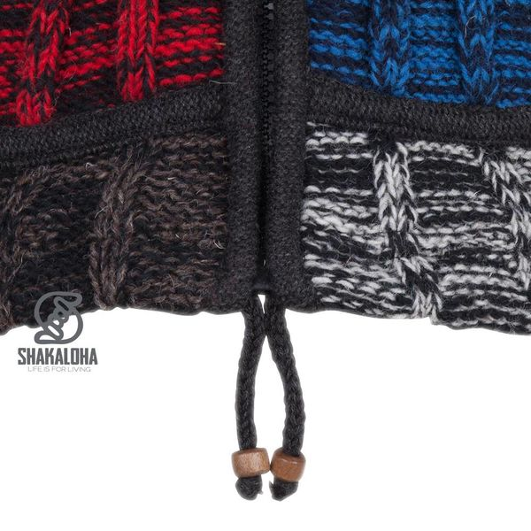 Shakaloha W Rib Patch ZH BlackNavyRed