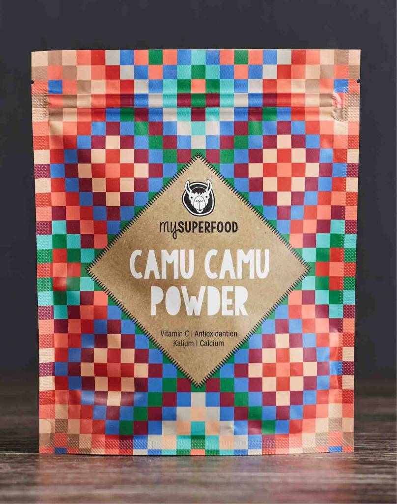 Organic Camu Camu powder from healthy Camu Camu berries
