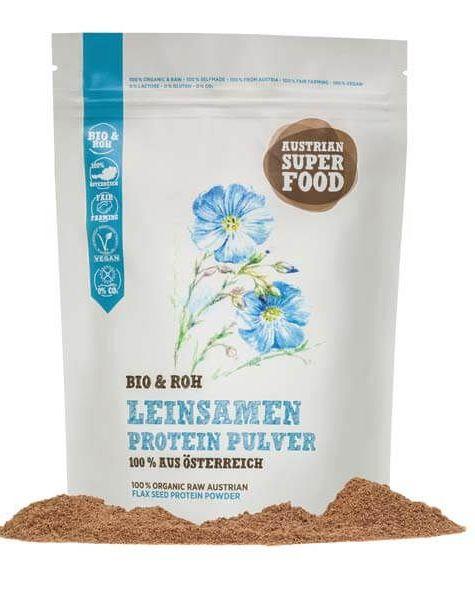 Bio Leinsamen Protein Pulver