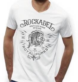 Shirt Royal Punks White / Grey