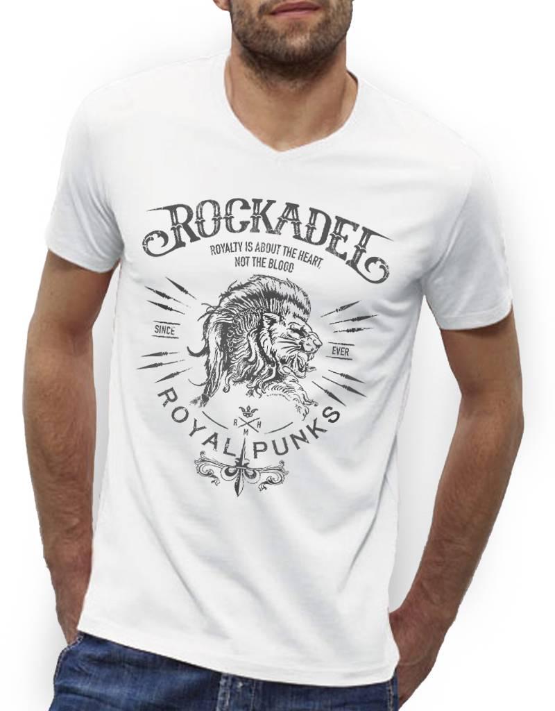Shirt Royal Punks White / Grey