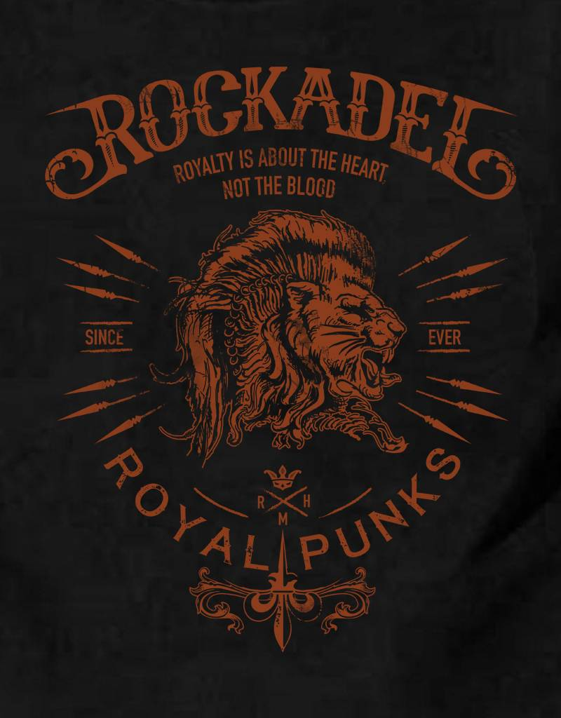 Shirt Royal Punks Black / Rust
