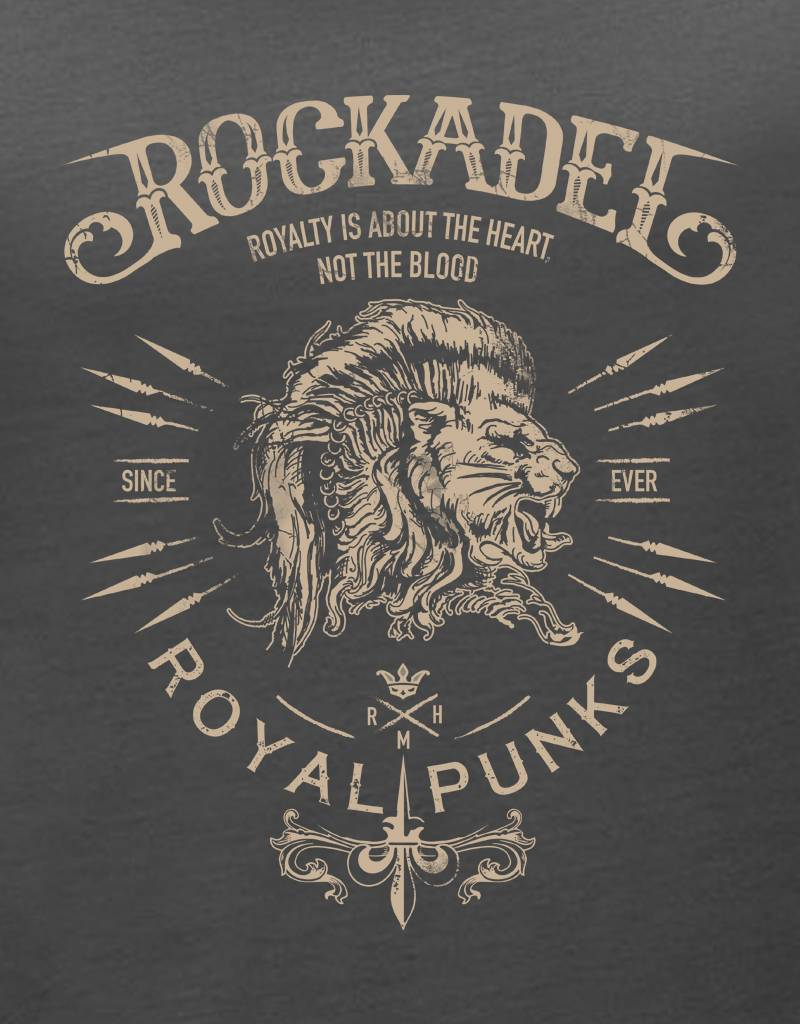Shirt Royal Punks Anthracite / Sand