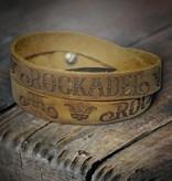 Lederband Brand - Wildbraun