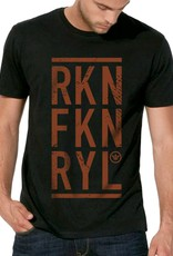 Shirt Rockin Fkn Royal Black / Rust